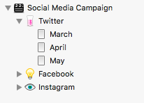 Manage your social media campaign in Scrivener